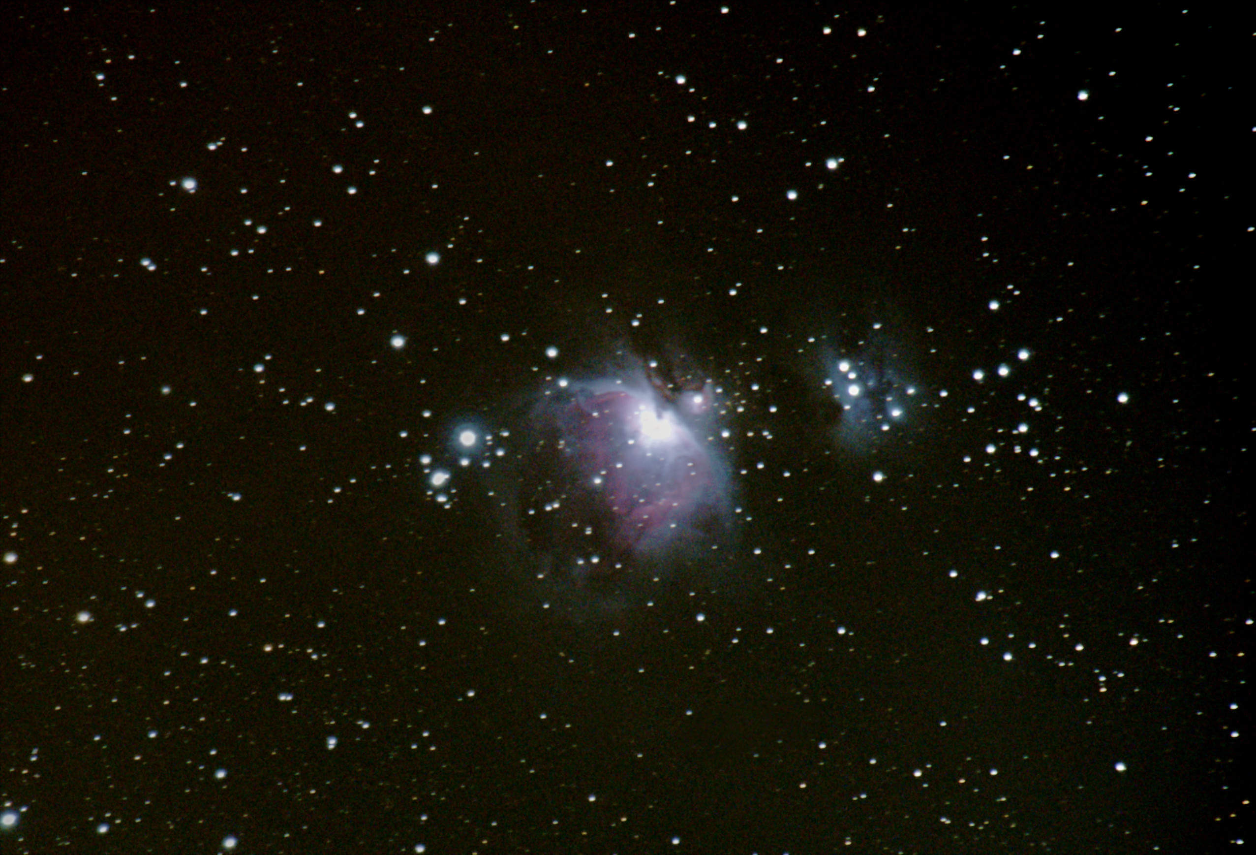 M42 und M43 in Orion